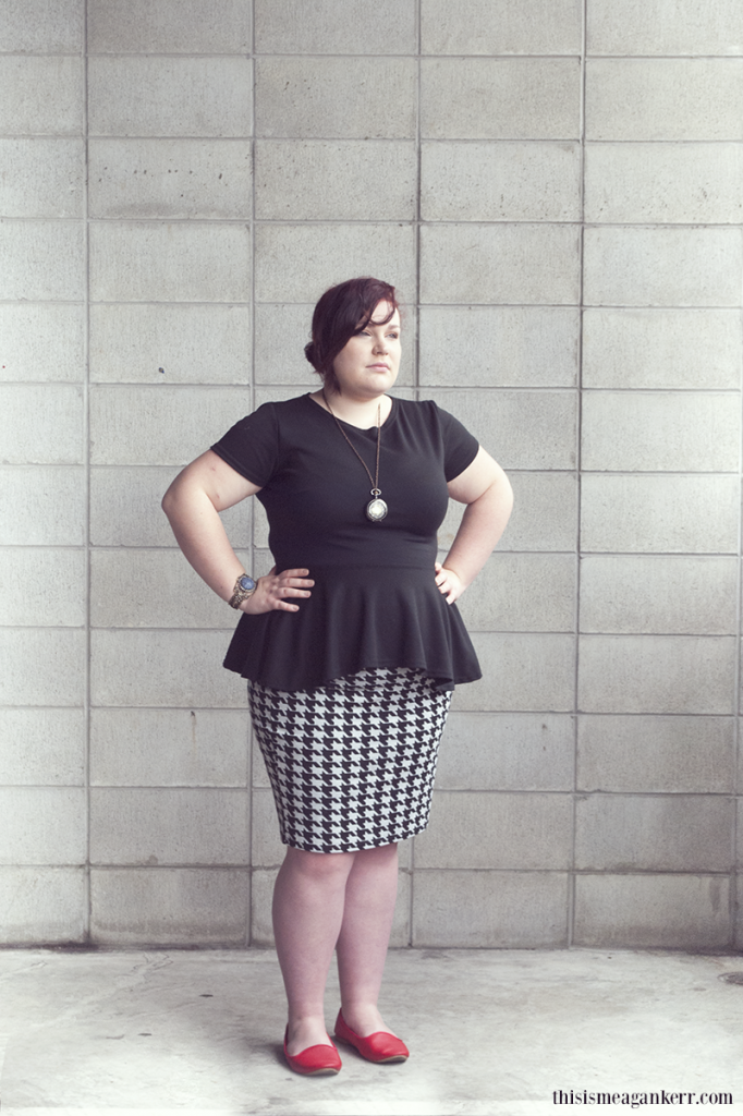 Fat Girls Shouldn't Wear Stripes: Charlotte Peek