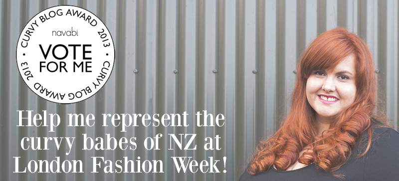 Vote for This is Meagan Kerr in the Navabi Curvy Blogger Awards