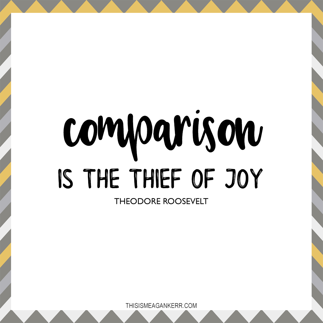 How To Show Your Body Love: Comparison is the thief of joy