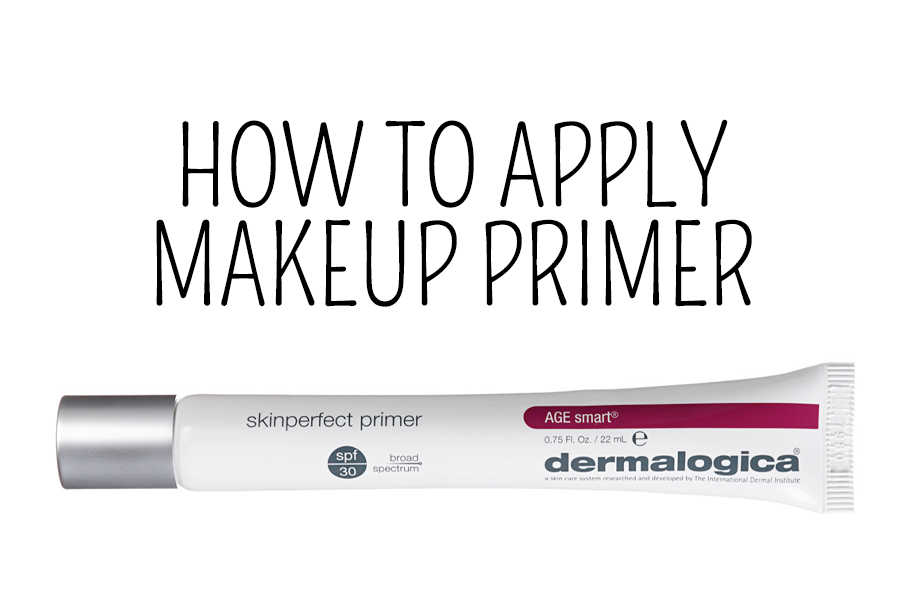 How to apply makeup primer
