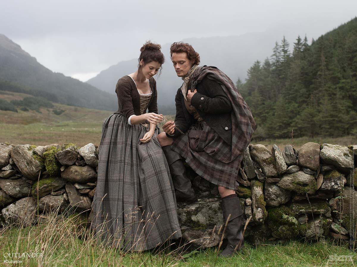 Claire and Jaime 1743 Outlander