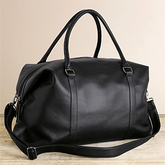 EziBuy Next Black Grainy Holdall