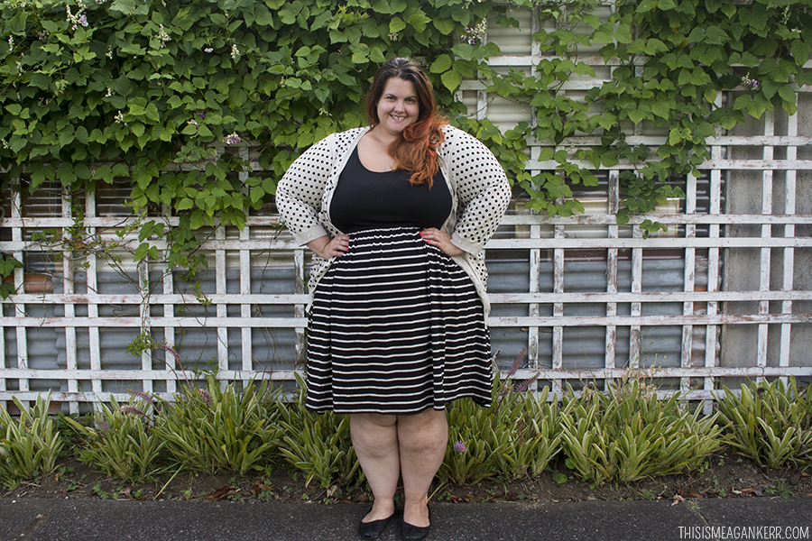 Pattern Clash: Spots and Stripes - This is Meagan Kerr