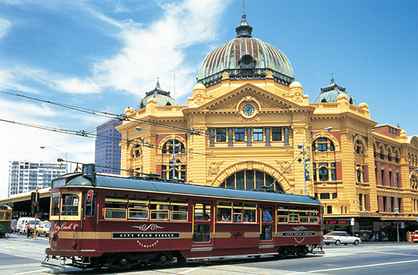 Melbourne City Flinders Station