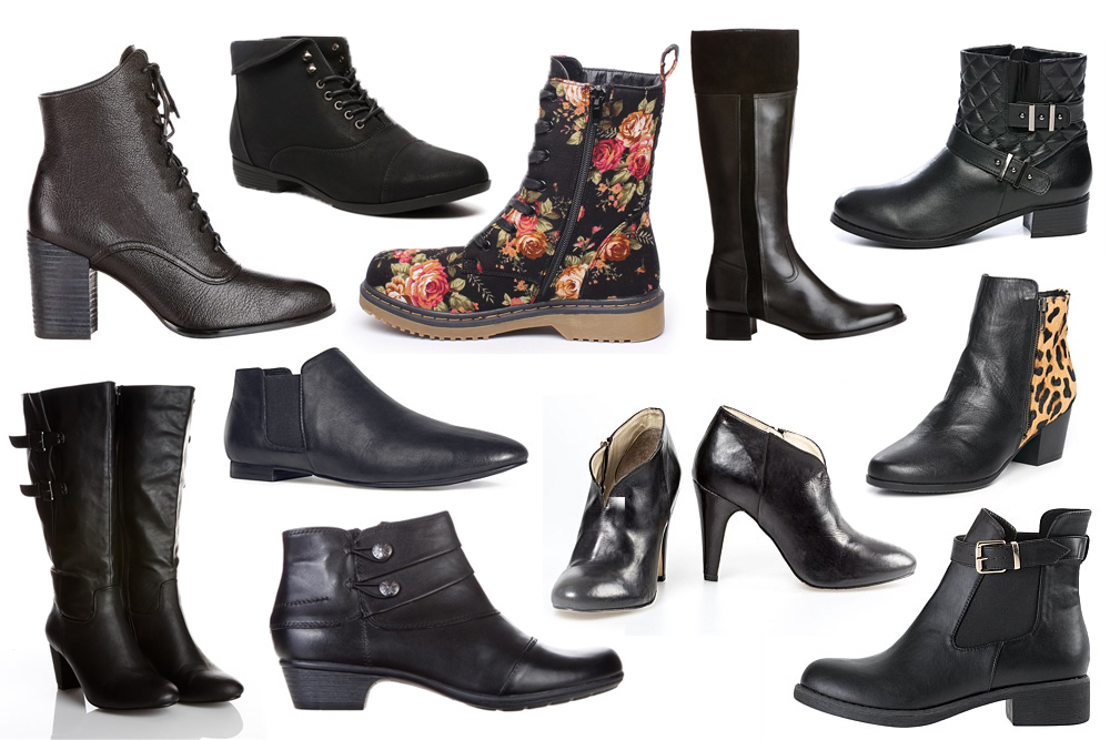 Autumn Boots Special - Black Riding Boots Ankle Boots for Fall