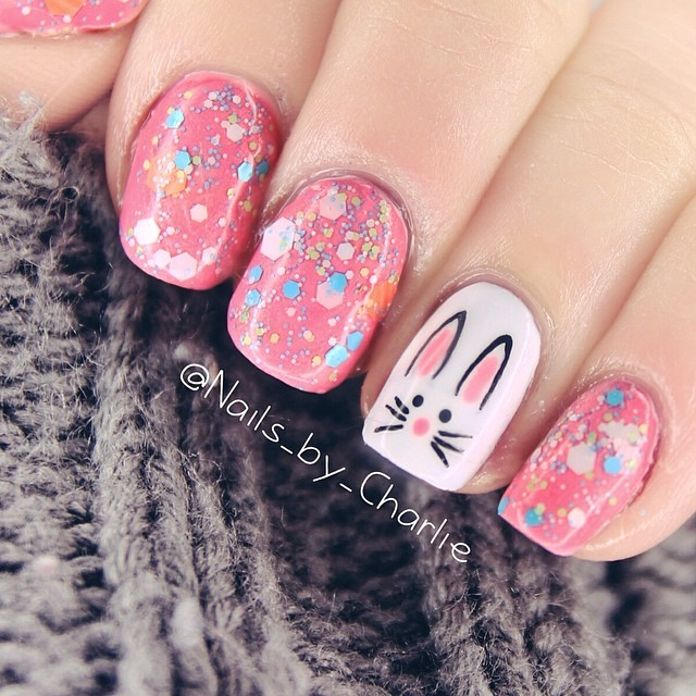 Easter Bunny Nails: Easter Nail Art Inspiration