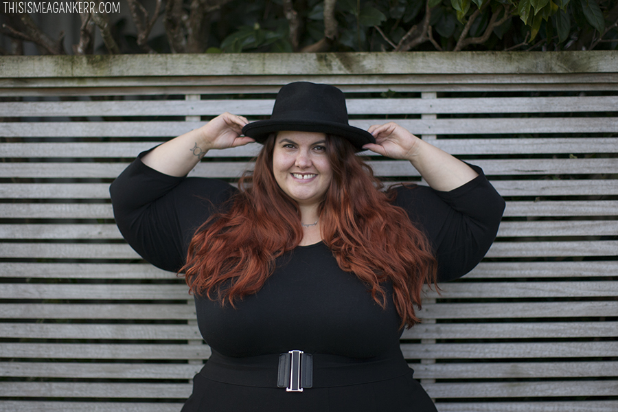 Meagan Kerr Plus Size Fashion Head To Toe We Wear Black