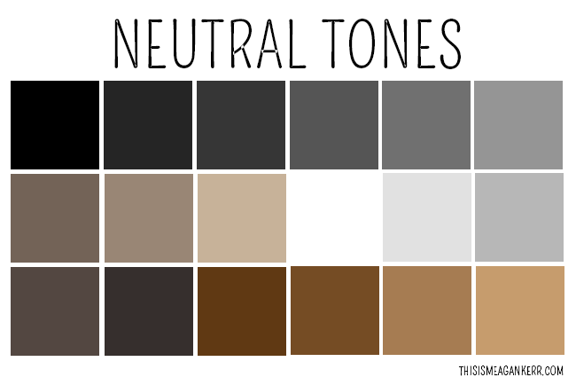 neutral tones colors home design