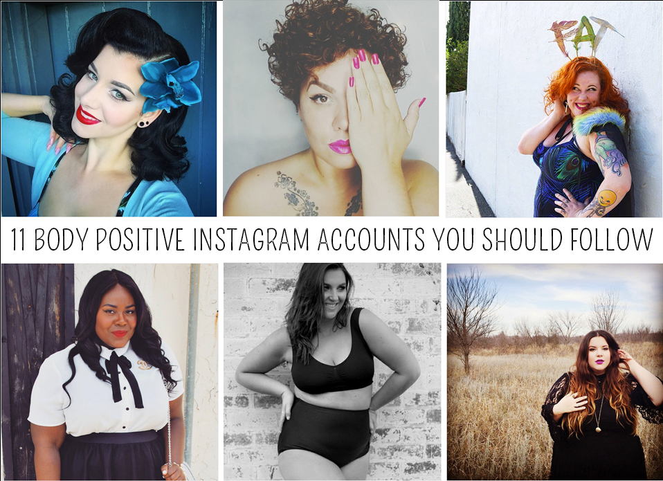 11 Body Positive Instagram Accounts You Should Follow
