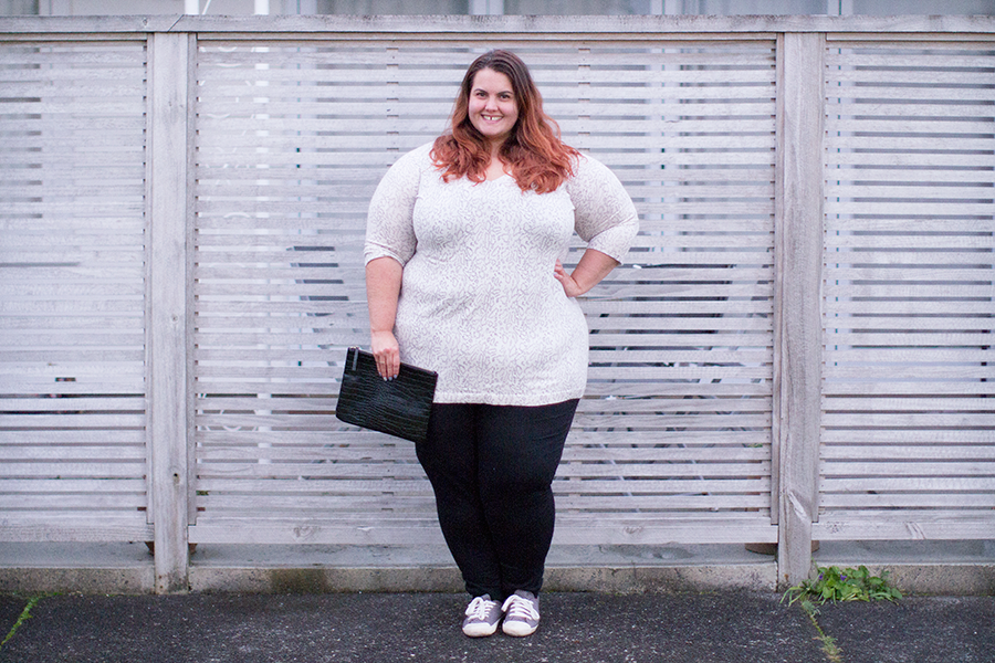 Meagan Kerr: Aussie Curves Plus Size Knitwear from Autograph
