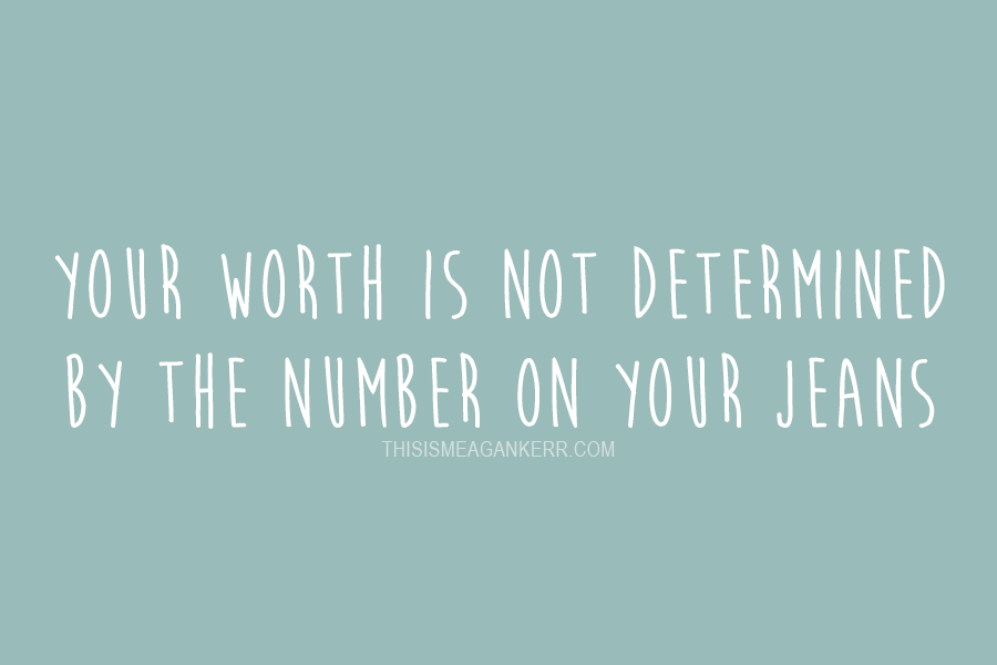 Vanity sizing: Your worth is not determined by the number on your jeans