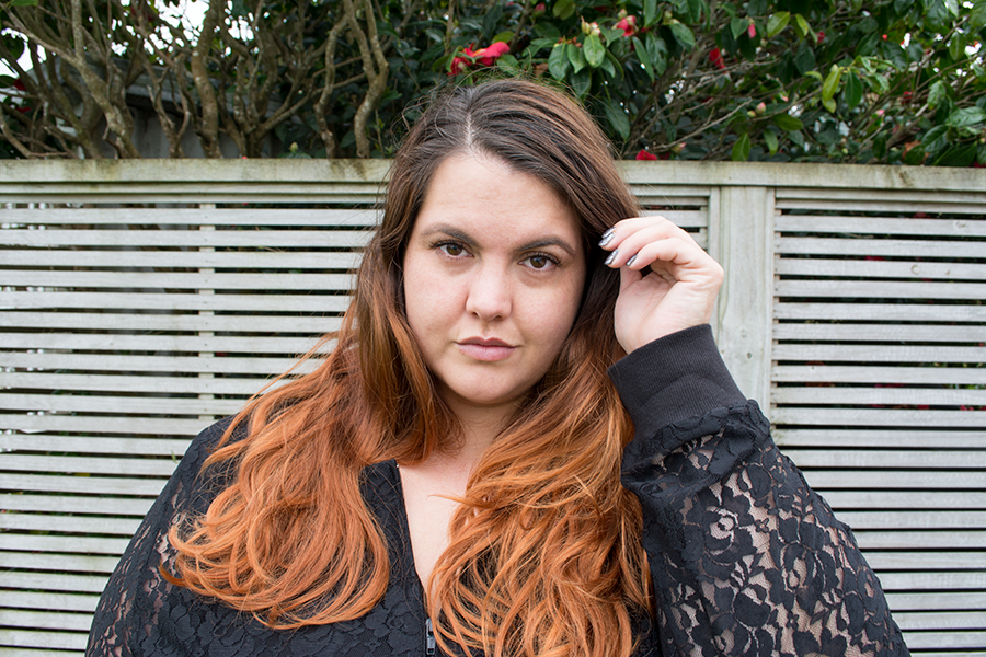 This is Meagan Kerr: NZ Style Curvettes Lace // Harlow Lace Bomber Jacket
