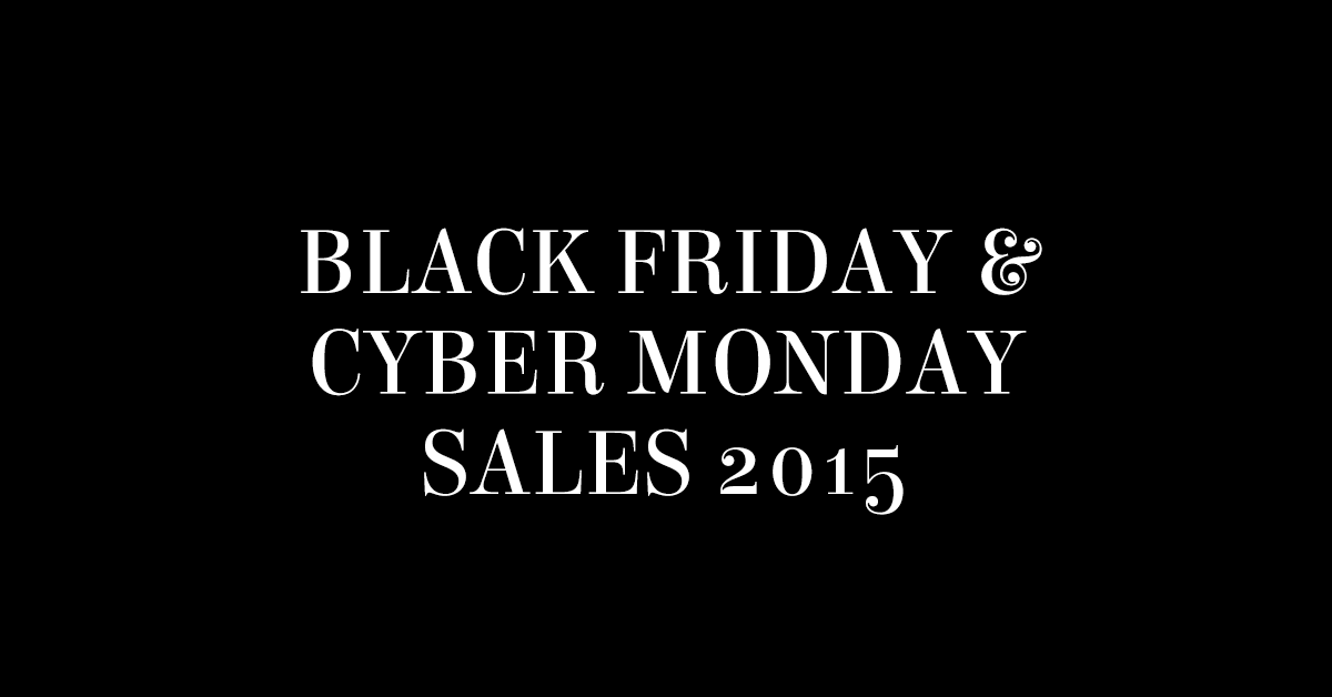 Plus Size Black Friday and Cyber Monday Sales 2015