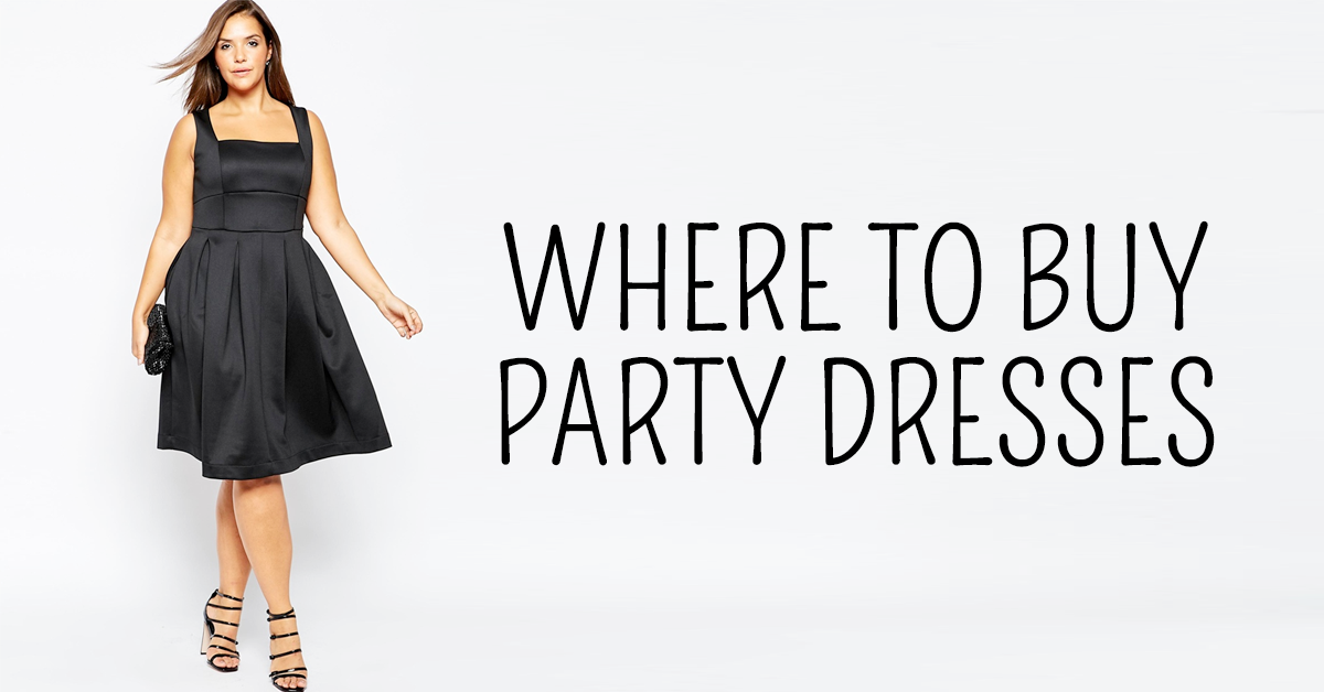 Where to shop for plus size party dresses