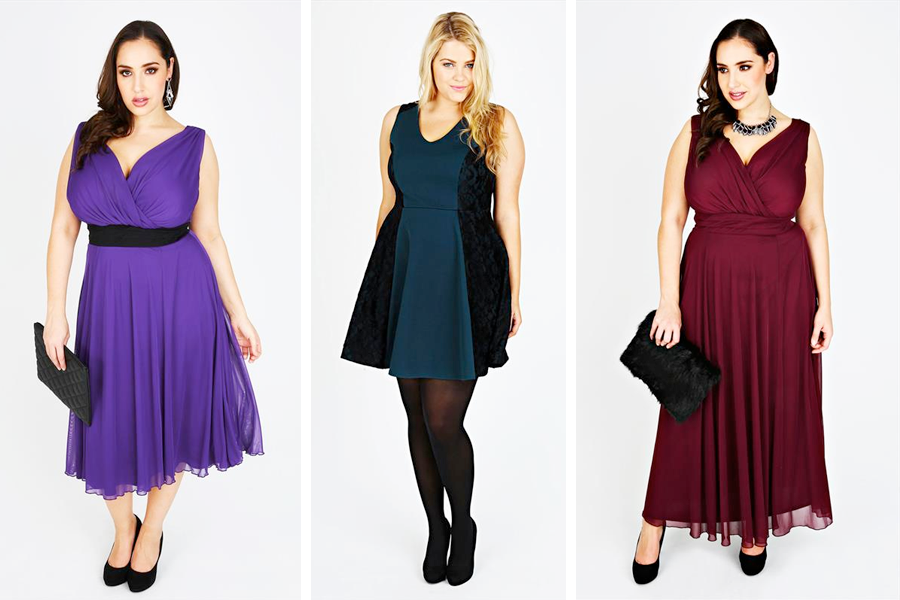 Yours Plus Size Party Dresses 6