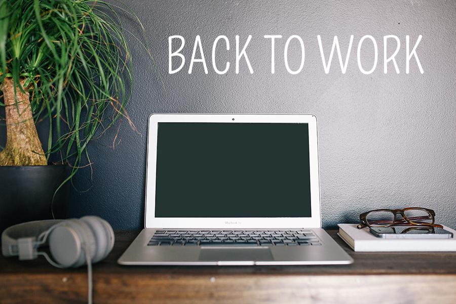 Back to work // via Death To The Stock Photo