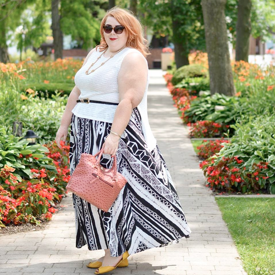 Plus Size Style Bloggers To Follow in 2016 // Amanda from Latest Wrinkle