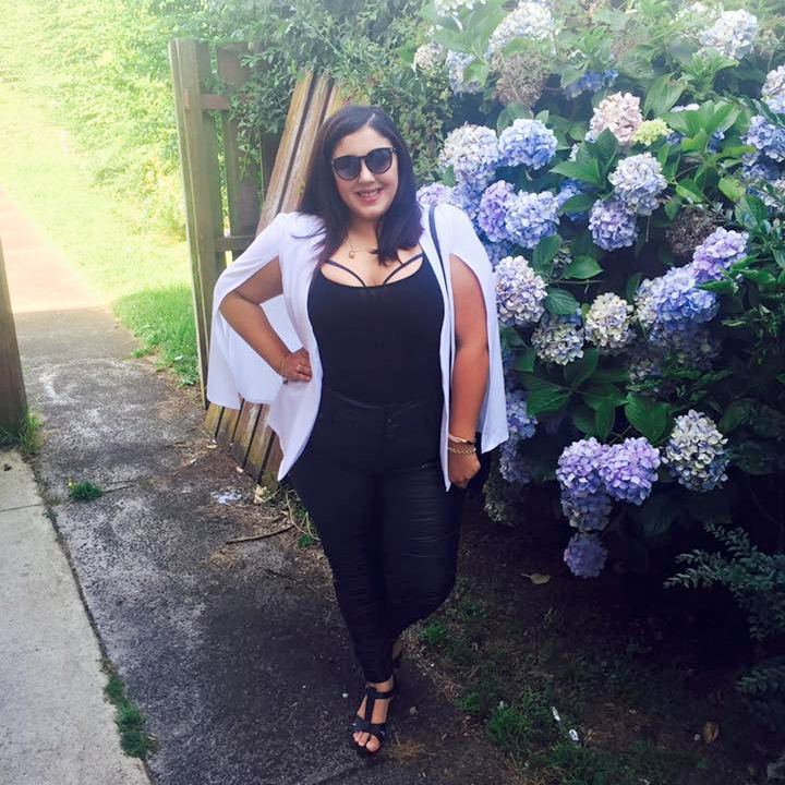 Plus Size Style Bloggers To Follow in 2016 // Nina from Monochrome & Simone