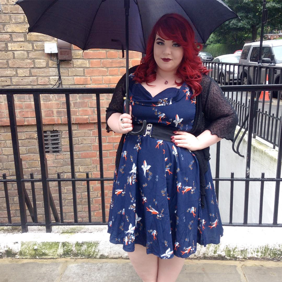 Plus Size Style Bloggers To Follow in 2016 // Georgina from She Might Be Loved