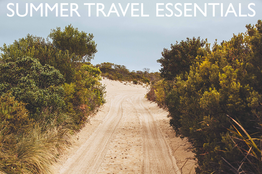 Summer Travel Essentials // via Death To The Stock Photo