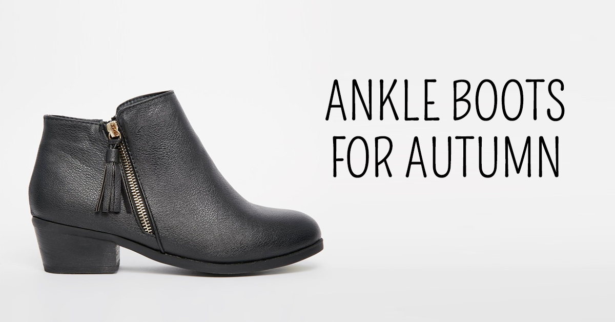 Autumn 2016 ankle boots for wide feet