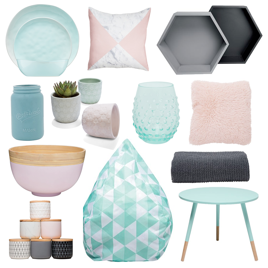 Sweet Like Candy Homeware from Kmart, The Warehouse and Freedom Furniture