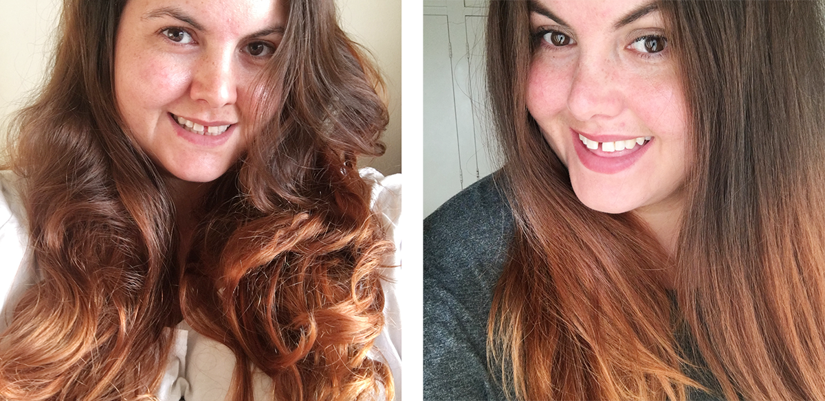 Pics For Gt Hair Straightener Before And After