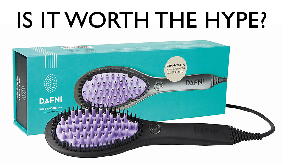 Dafni Hair Straightening Brush - is it worth the hype?