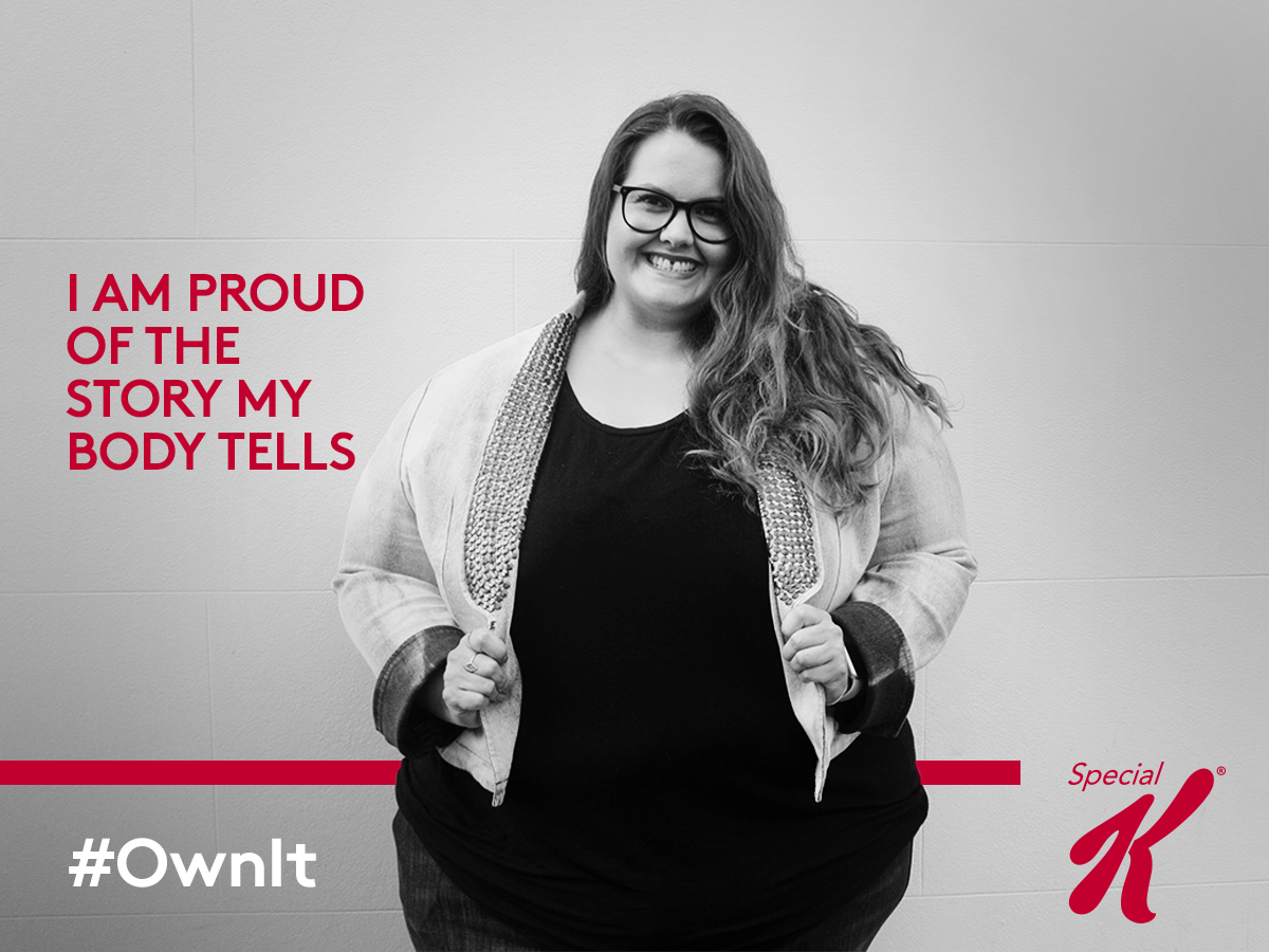 Meagan Kerr for Special K - Ditch the doubt and #ownit