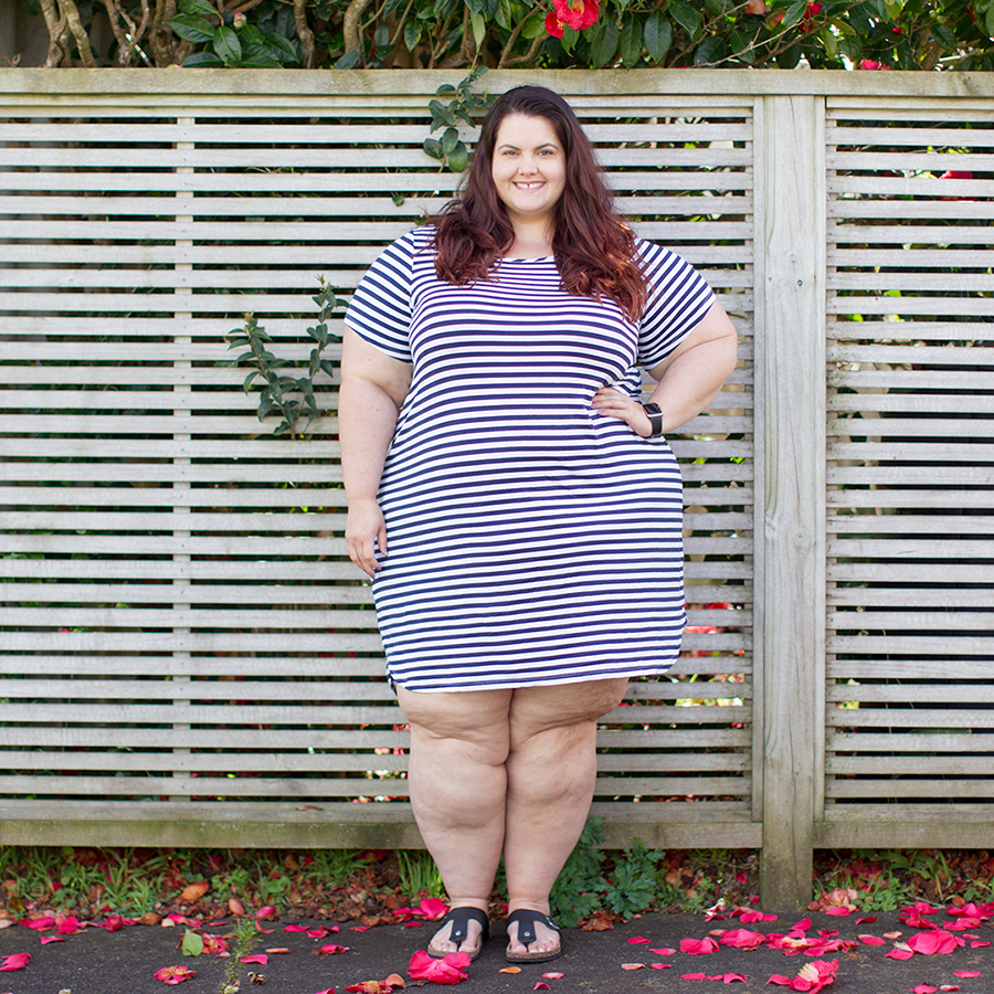 Melbourne plus size shopping haul: Belle Curve from Target