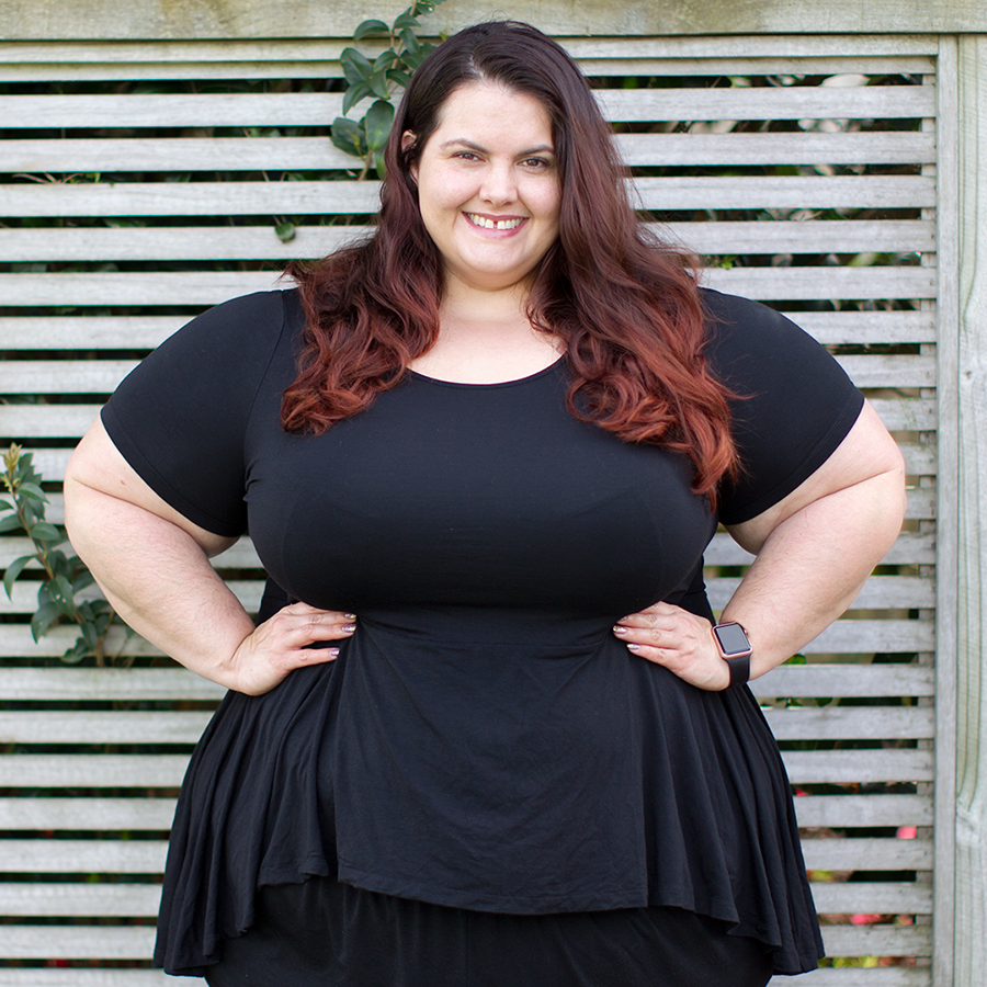 Melbourne plus size shopping haul: Estelle from Myer
