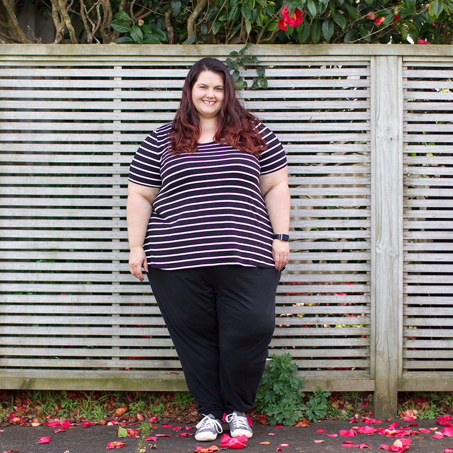 Melbourne plus size shopping haul: Mink Denim from Myer