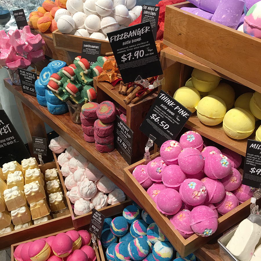 Lush Christmas 2016 Bath Ballistics and Bubble Bars