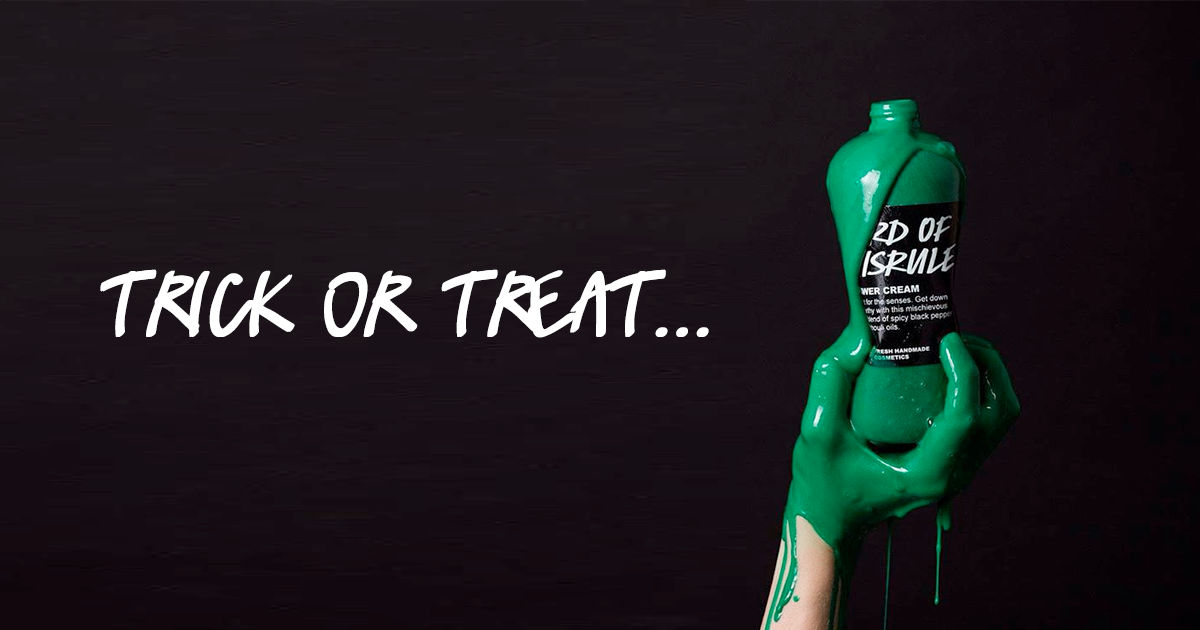 Lush Halloween Trick or Treat: Lord of Misrule Shower Cream