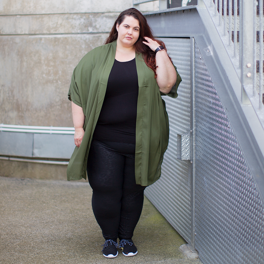 This is Meagan Kerr plus size style steal - Callie Thorpe
