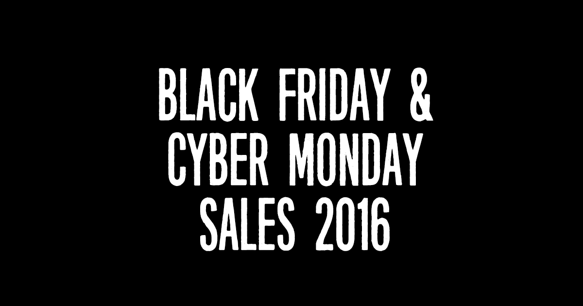 Plus Size Black Friday and Cyber Monday Sales 2016