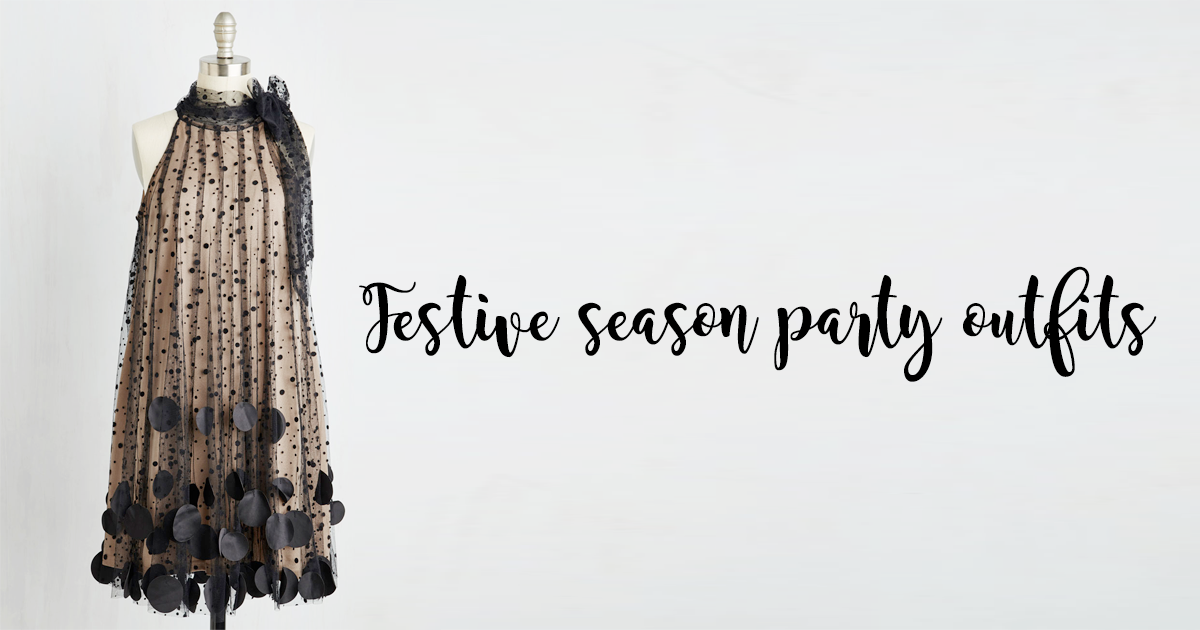 Plus size festive season party outfits