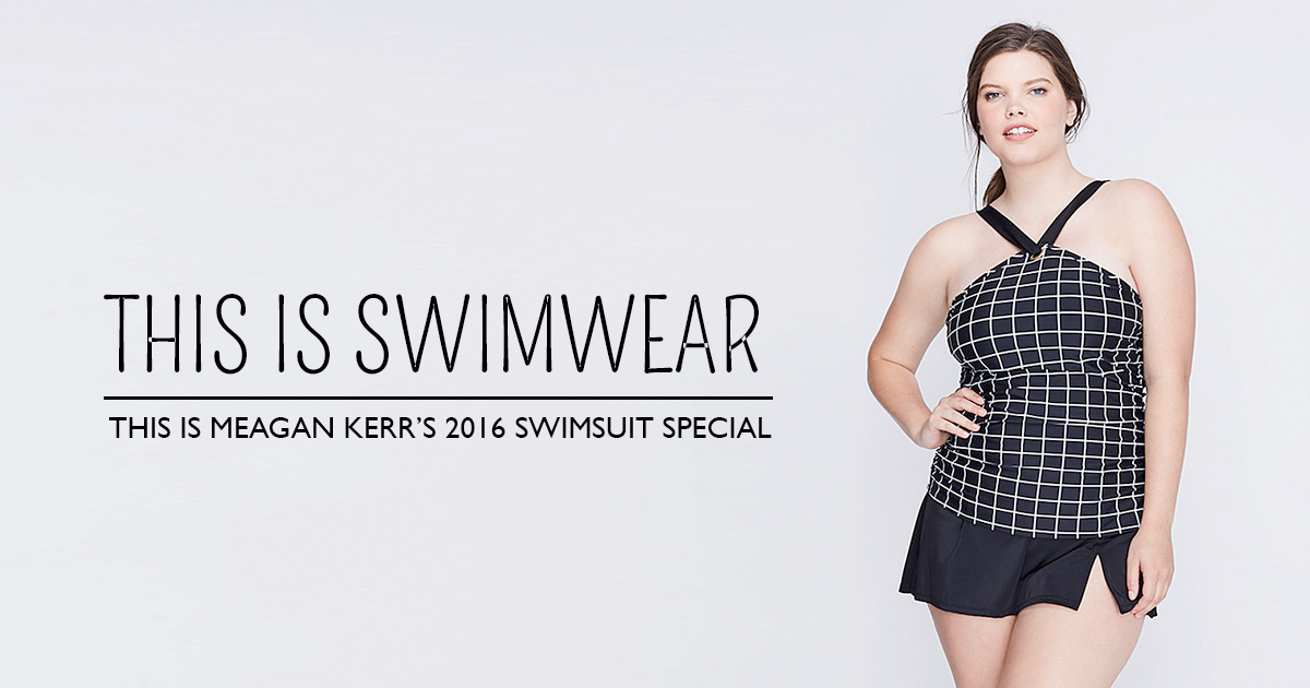 Plus size swimsuit special 2016: tankinis