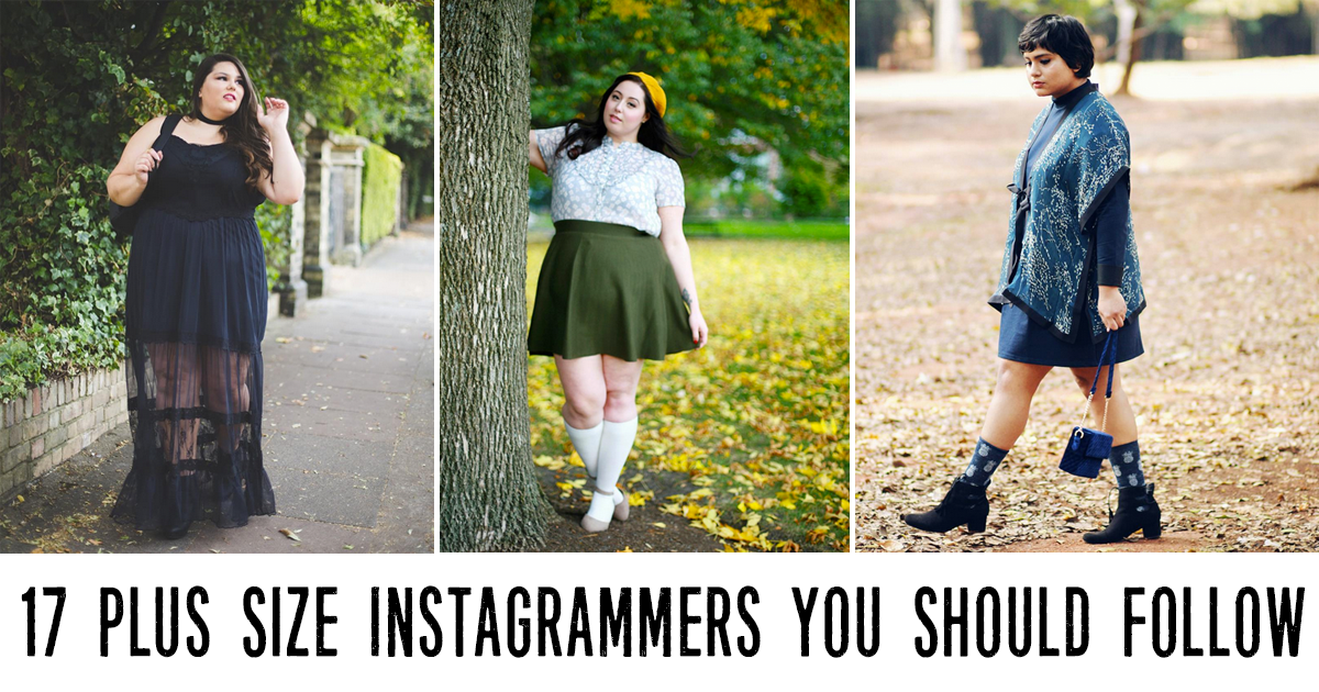 Plus Size Instagrammers You Should Follow