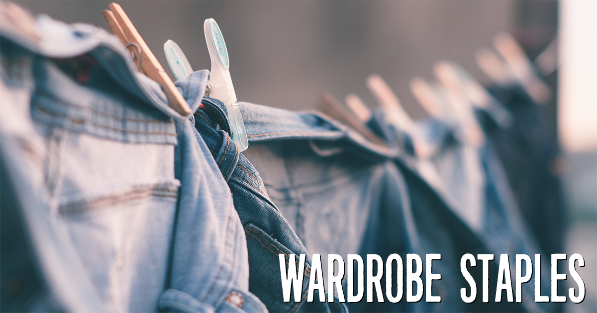 Wardrobe staples for any budget - save vs splurge