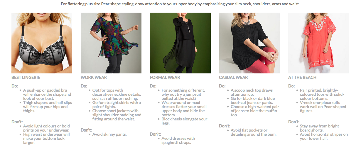 How to Dress for a Plus Size Pear Shape