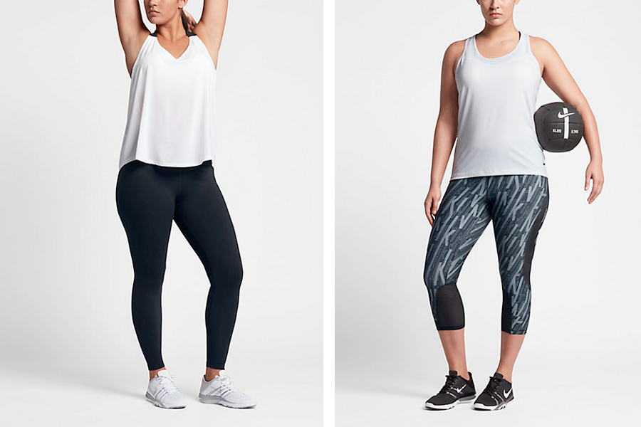 Nike Power Legendary Tights $110 | Nike Pro Hypercool Capris $100