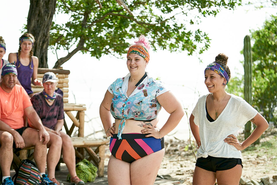Hannah and Dee at Redemption Island on Survivor New Zealand / Photo: Scott McAulay