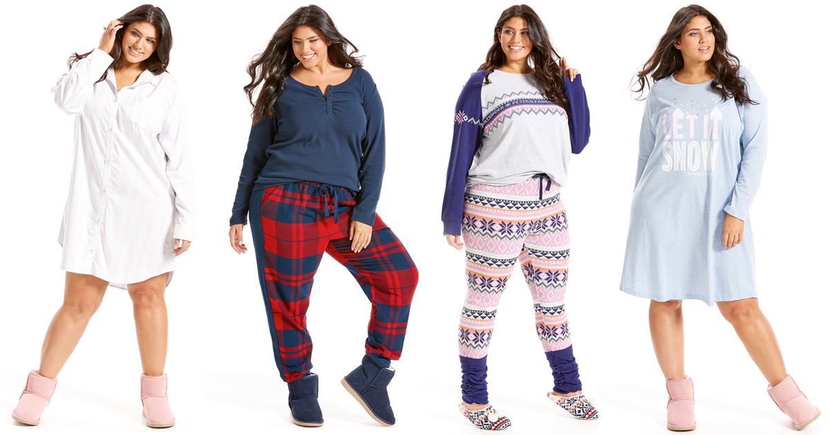 Winter 2017 Plus Size Pyjamas