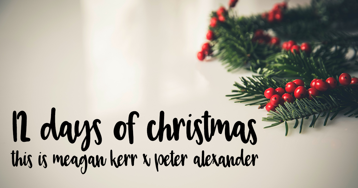 12 Days of Christmas Giveaways 2017 | This is Meagan Kerr x Peter Alexander