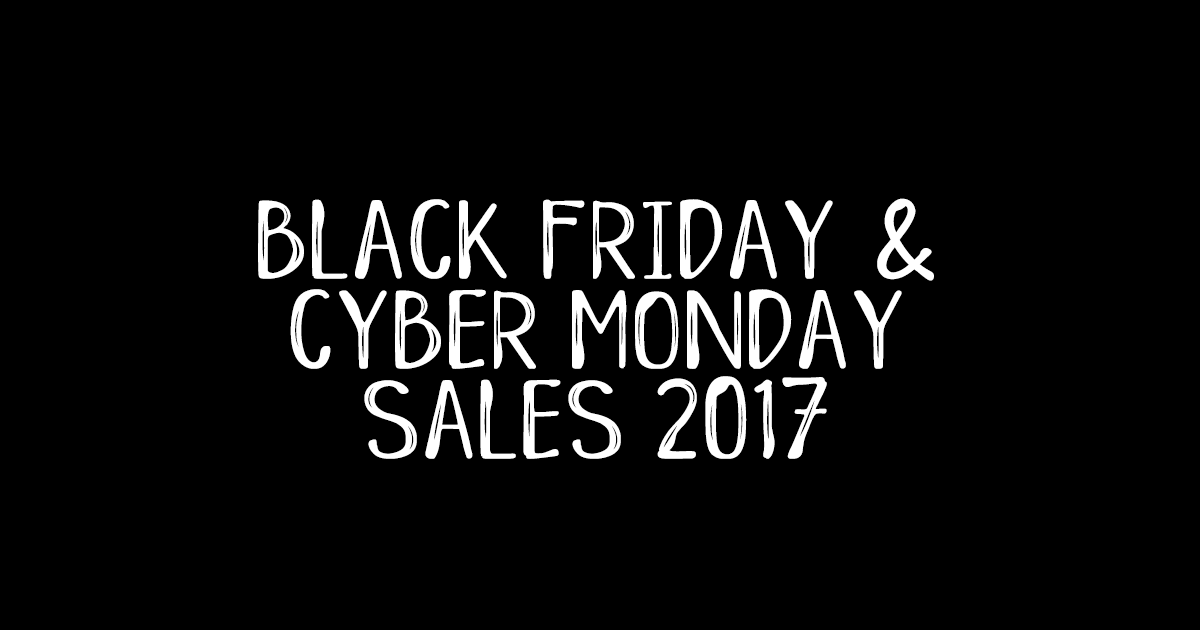 Black Friday and Cyber Monday Plus Size Clothing Sales 2017
