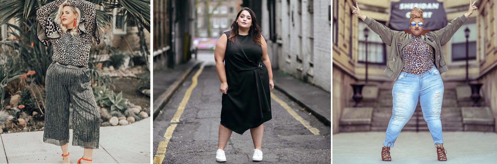 Plus size style inspiration for 2018: Alex Michael May, Danielle Vanier and Leah Vernon