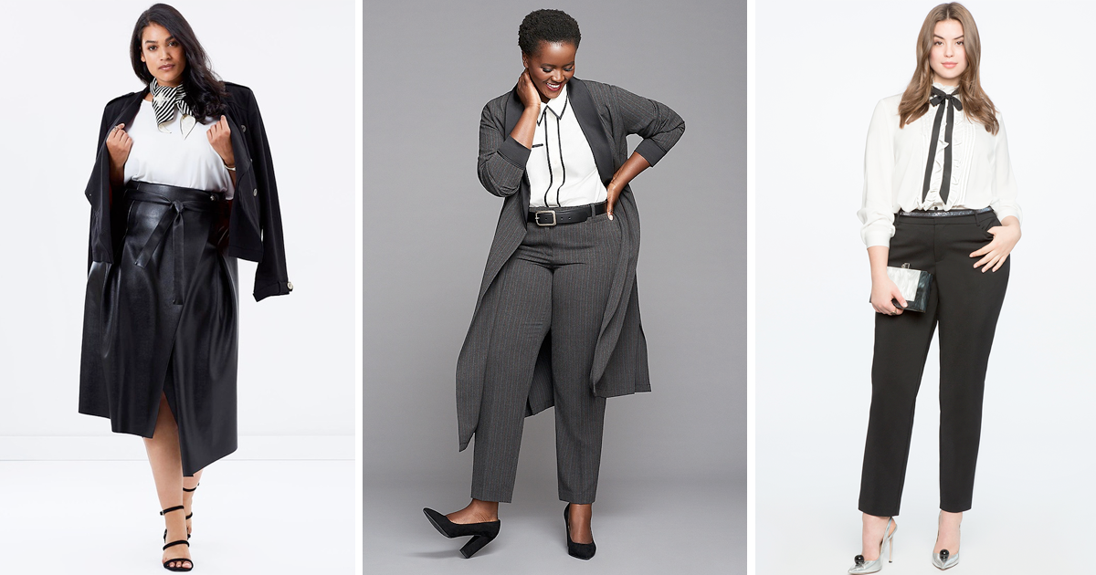 Plus size workwear 2018