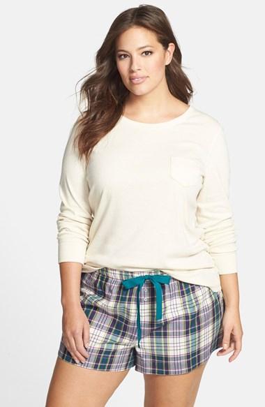243278d36a1 Plus Size Sleepwear Nordstrom Jane   Bleecker New York Shortie Pajamas ...