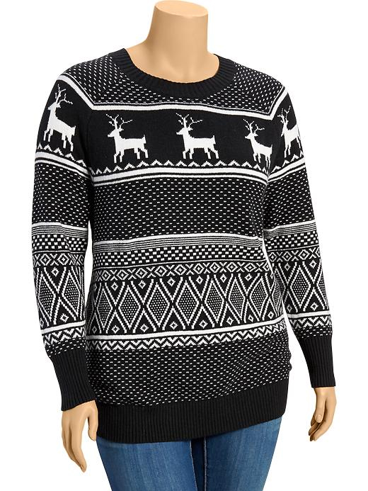 plus size christmas sweaters that dont suck old navy womens plus fair isle